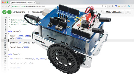 Shield-Bot with Arduino