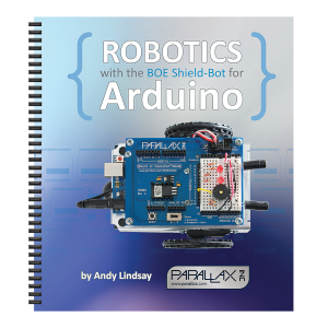 122-32335: Robotics with the Board of Education Shield for Arduino - book cover
