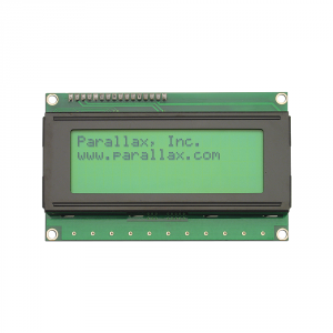 27979 Parallax 4x20 Serial LCD (Backlit)