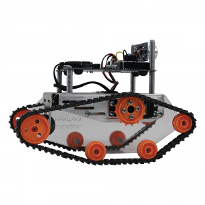 28106: Tank Tread Kit Assembled View - Robot not included