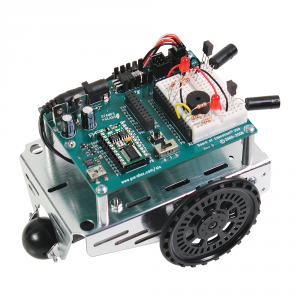 28832: Assembled Boe-Bot with Infra Red Sensors