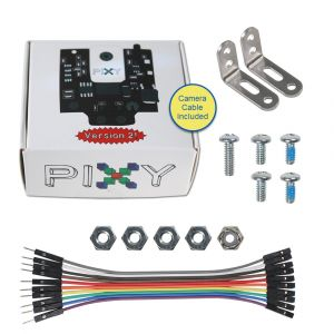30028: Pixy2 CMUcam with Cable + Mounting Hardware - kit contents