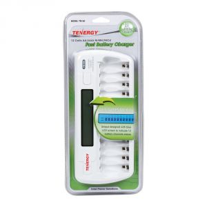 752-00021: Tenergy 12 AA / AAA Fast Battery Charger - in package