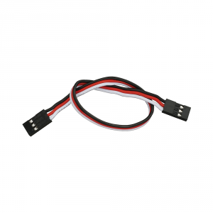 """800-00080: 3-pin Female/Female Signal-Power-Ground Cable/Wire (8"""")"""