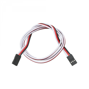 """800-00240: 3-pin Female/Female Signal-Power-Ground Cable/Wire (24"""")"""