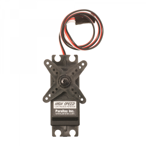 900-00025: High Speed Continuous Rotation Servo Overhead View