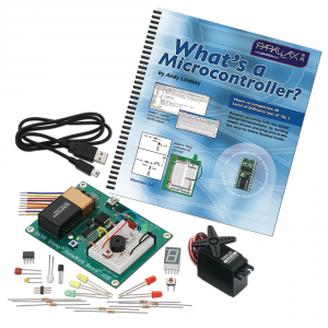 90005: BASIC Stamp Activity Kit - USB (with v3.0 What's a Microcontroller? Text)