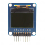 28087: 96 x 64 Color OLED Display Module - top view, off