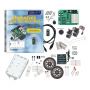 28832: Boe-Bot Robot Kit  - USB Version with Robotics with the Boe-Bot Text
