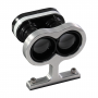 Aluminum Stand Kit for SF Laser Rangefinders - assembled with laser